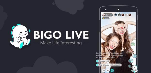 BIGO LIVE, A Live Video Broadcasting Mobile App for Android and iOS