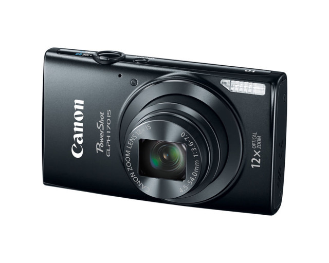 Canon PowerShot ELPH 170 IS And PowerShot ELPH 160 [CES 2015]