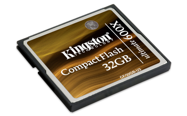 Kingston CompactFlash 32GB Ultimate 600x