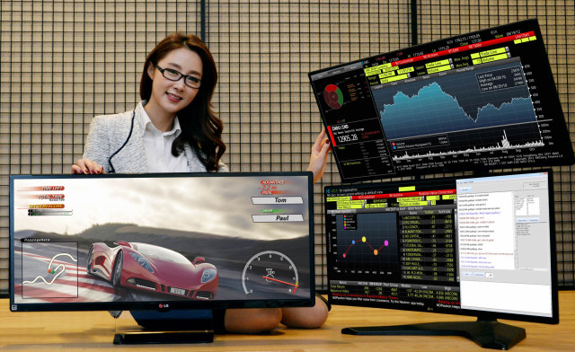 LG To Unveil World's First 34-Inch 21:9 UltraWide Monitors At CES 2015