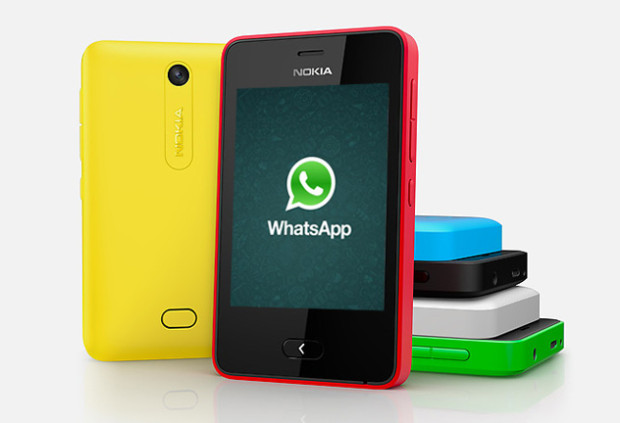 WhatsApp For Nokia Asha 501 Receives A Major Update  v2.12.42