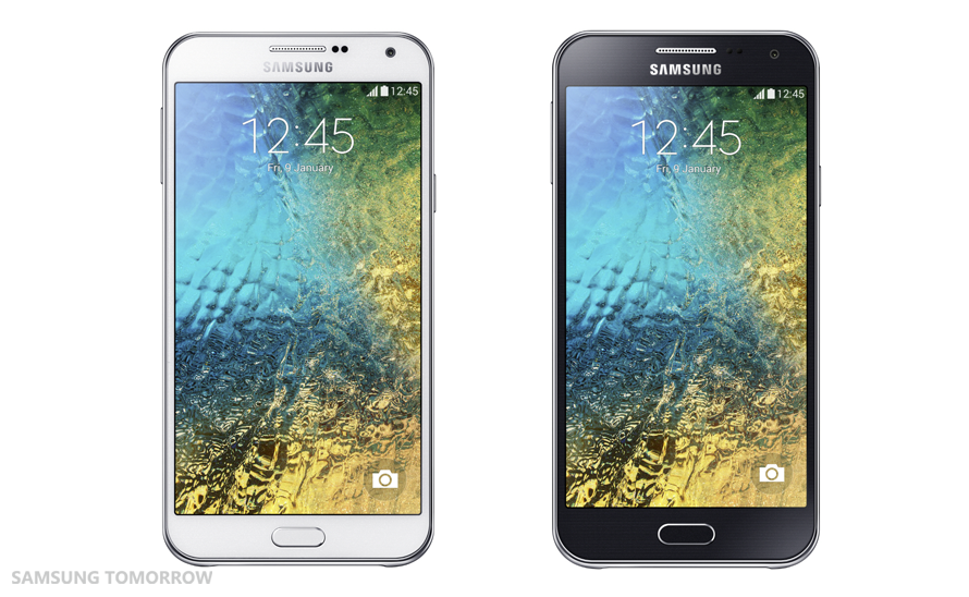 Samsung Galaxy E5 And Galaxy E7 Announced  [CES 2015]