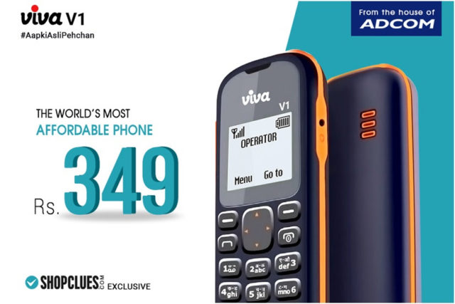 Viva V1 Is The New Feature Phone At Rs 349 In India