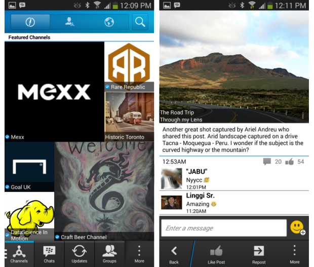 BBM Channels for Android and iOS