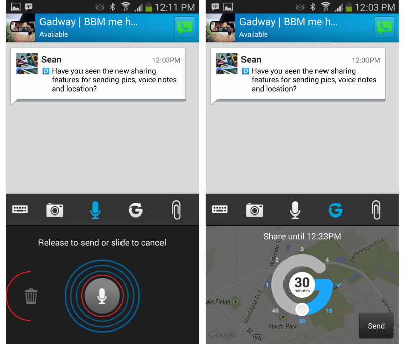BBM For Android And iOS To Get New Features, Includes Voice Calls, Channels And More