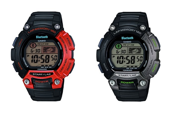 Casio's iPhone-Compatible STB-100 Sports Watch Launched [CES 2014]