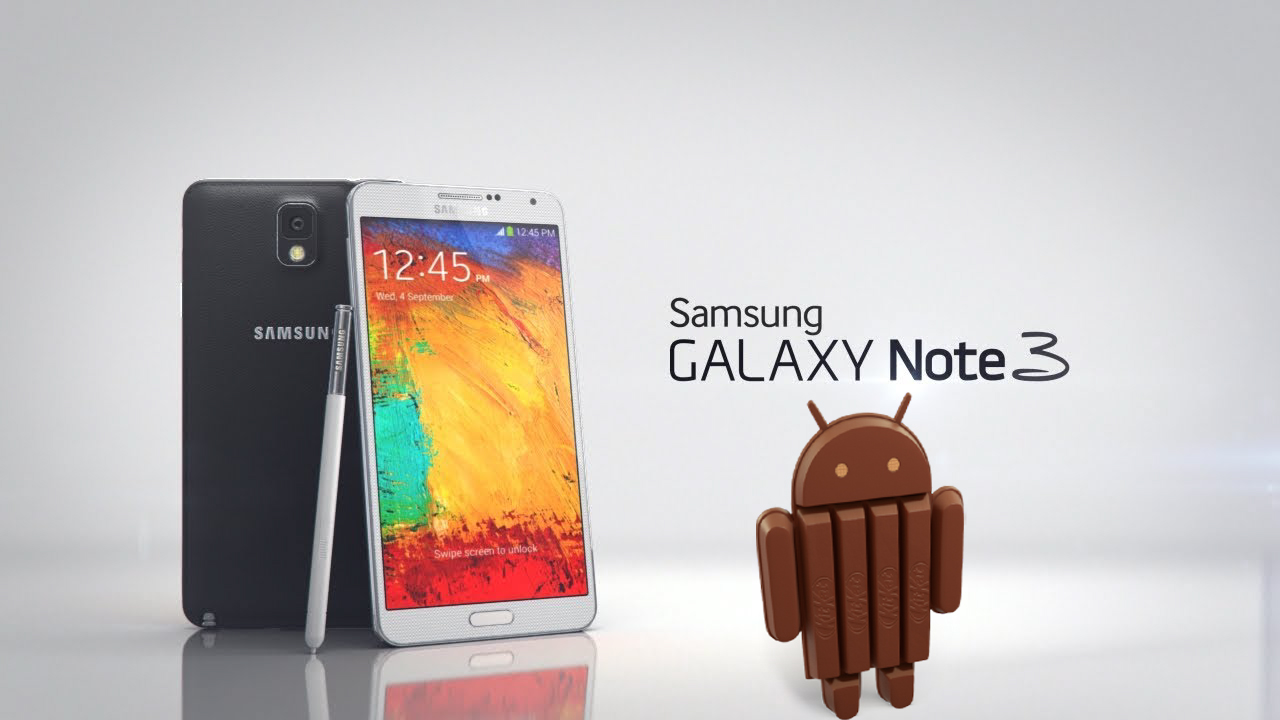 Android 4.4.2 KitKat Update Rolling Out For The Samsung Galaxy Note 3
