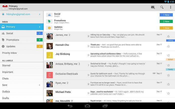 Gmail For Android Updated to 4.7.2 Adds Auto-Image Show Feature And More