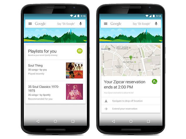 Third-Party Apps Support Available on Google Now