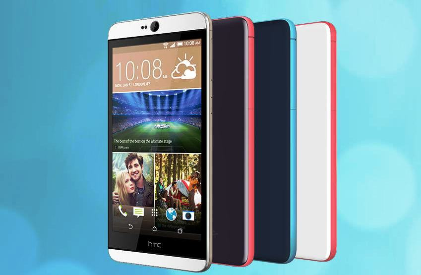 HTC Desire 826 5.5-Inch Smartphone With Android Lollipop Announced [CES 2015]