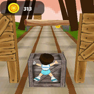 Jungle Run 3D is the best adventure game for nokia asha 501