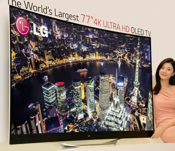 LG To Unveil New Range Of Ultra HD Curved Design OLED TV At CES 2014