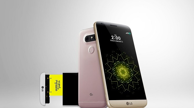 LG G5 Unveiled – Their First Modular Designed Smartphone