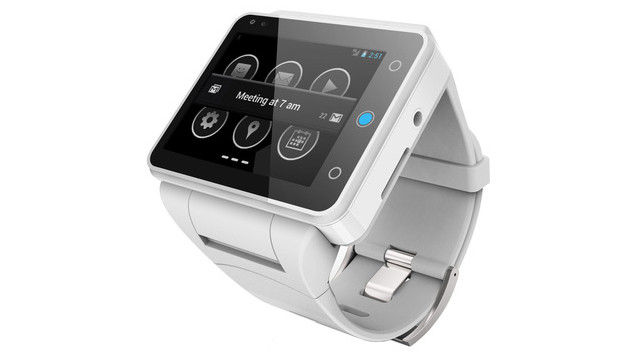 Neptune Pine Is A First Standalone Android Smartwatch [CES 2014]
