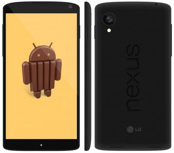 LG Nexus 5 Render Spotted, Shows Off A New Design