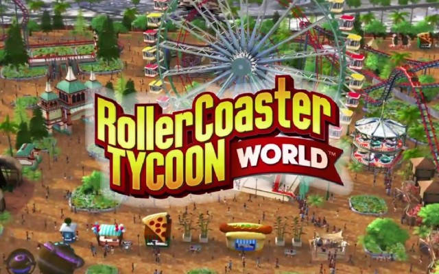 Roller Coaster Tycoon World to be Released in December