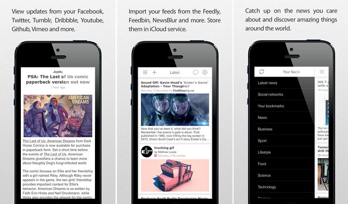Good News RSS Reader App For iOS Updated With New Redesigned UI And Features