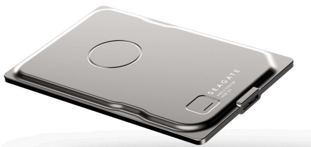 Seagate Seven Is The World's Slimmest Portable Hard Disk [CES 2015]