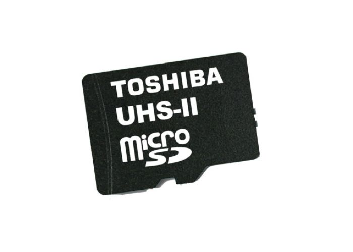 Toshiba Launches UHS II, The World's Fastest microSD Card