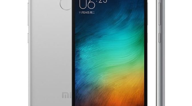Xiaomi Redmi 3s Officially Announced With Fingerprint Sensor