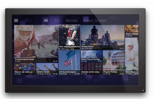 Yahoo Smart TV Announced [CES 2014]