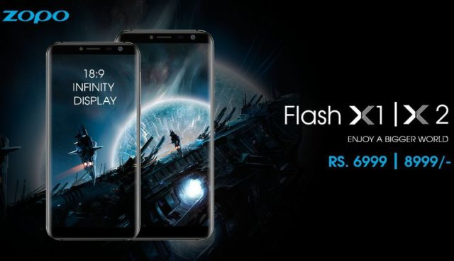 Zopo Flash X1 and Flash X2 – The Cheapest Bezel-less Android Smartphones In India
